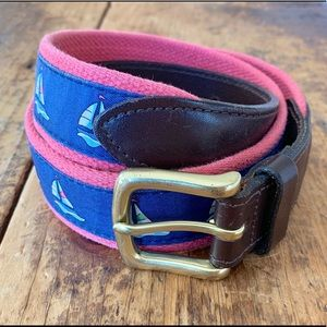 ⭐️ Vineyard Vines - Sailboat Canvas Club Belt ⭐️